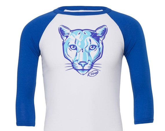 Kiva Cougar: Kid's Unisex Soft Baseball Shirt