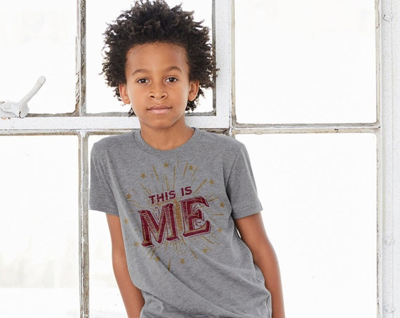 This is ME : Kid's Unisex Soft Blend T-Shirt