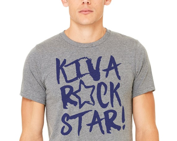 Kiva Rock Star: Adult Unisex Soft Blend T-Shirt