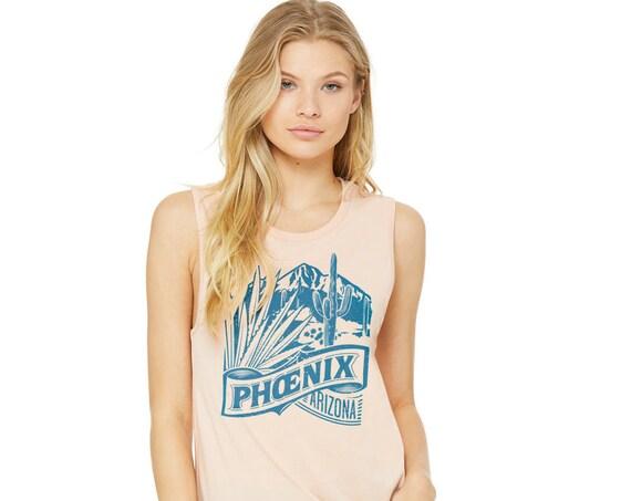 Phoenix Oethel : Women's Muscle T-Shirt