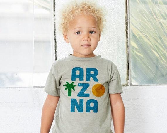 ARIZONA : Kid's Unisex Soft Blend T-Shirt