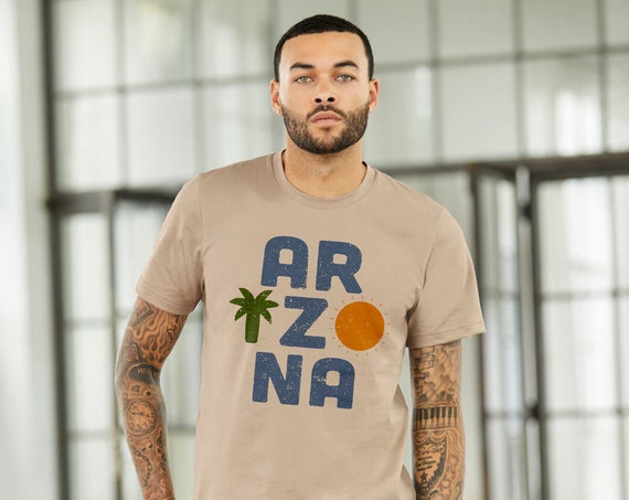 ARIZONA : UNISEX Crew Neck T-Shirt