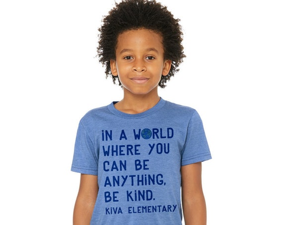 Be Kind Kiva 2018 : Unisex Soft Blend T-Shirt