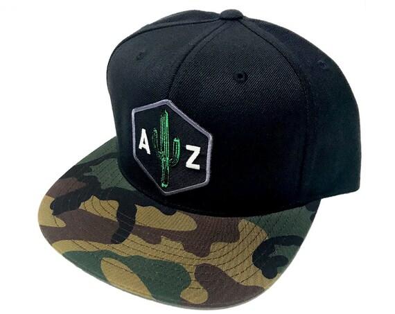 AZ Saguaro : Flat Camo Brim Hat