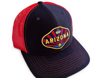 Arizona 1912 : Mid Profile Trucker Hat