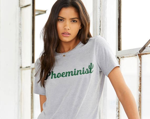 PHOEMINIST : Adult's Crew Neck T-Shirt