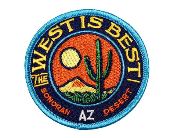 The West is Best: Embroidered Patch