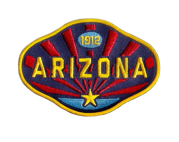 Arizona 1912 : Embroidered Patch