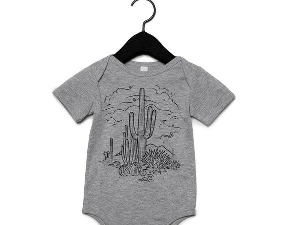 Sketchy Desert : Infants Onesie