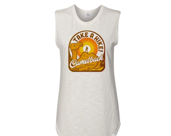 Camelback TAKE A HIKE : Women's Muscle Tee