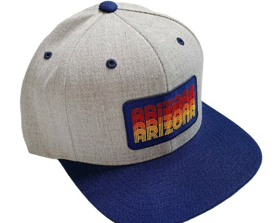 Arizona Retro Type : Flat Brim Cap