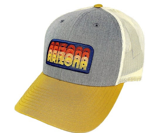 Arizona Stacked Type : Trucker Hat