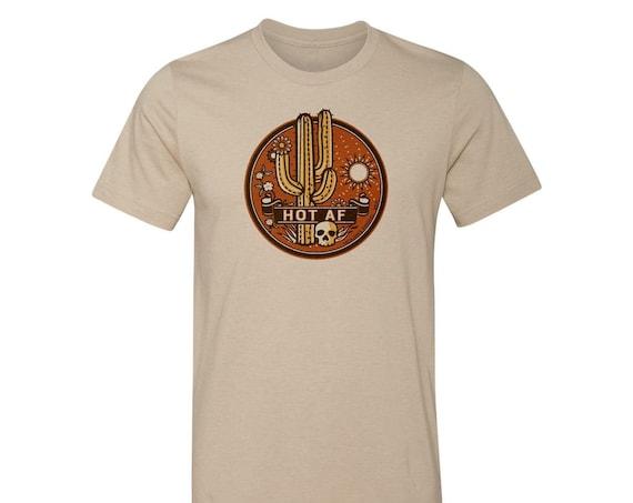 HOT AF : Unisex Crew Neck T-Shirt