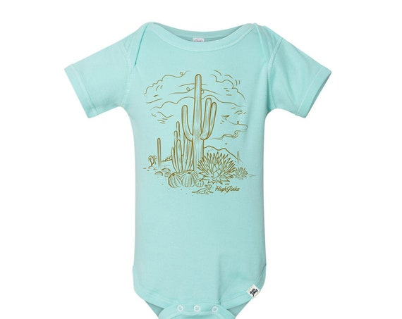 Sketchy Desert : Infants Bodysuit