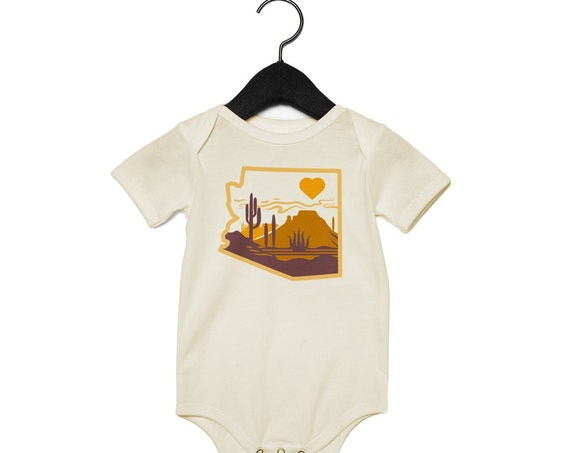 Heart of the Desert : Infants Bodysuit