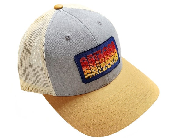 Arizona Stacked Type : Trucker Hat