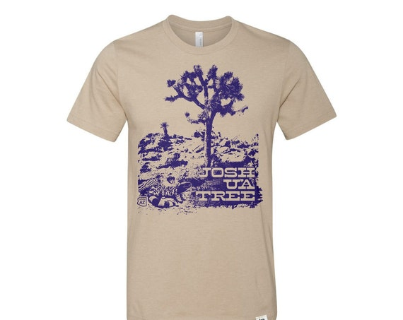 Joshua Tree : Adult's Crew Neck T-Shirt