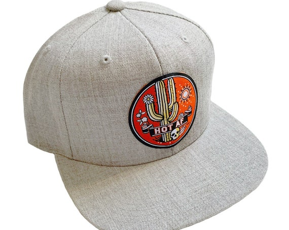 HOT AF : Flat Brim Hat