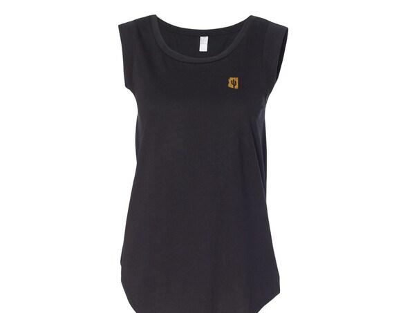 Copper State  : Women's Cap Sleeve T-Shirt