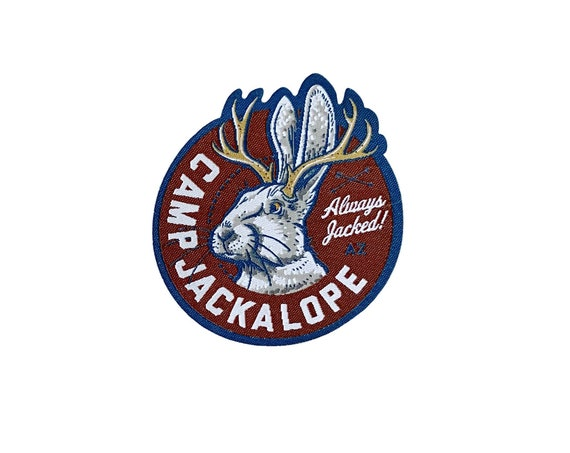 Camp Jackalope : Woven Patch