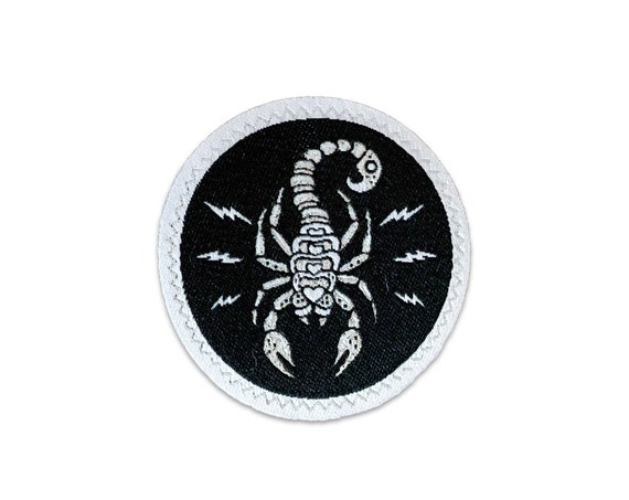 Electric Scorpion : Woven Patch