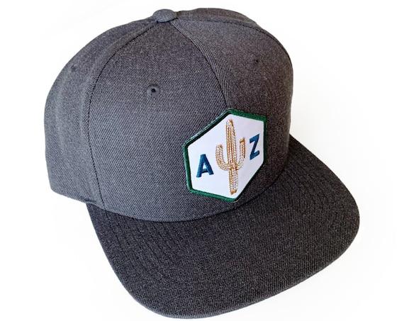 AZ Saguaro Scout : Flat Brim Hat