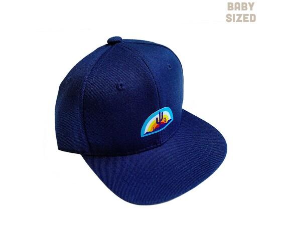 Desert Vista : BABY SIZED Flat Brim Hat