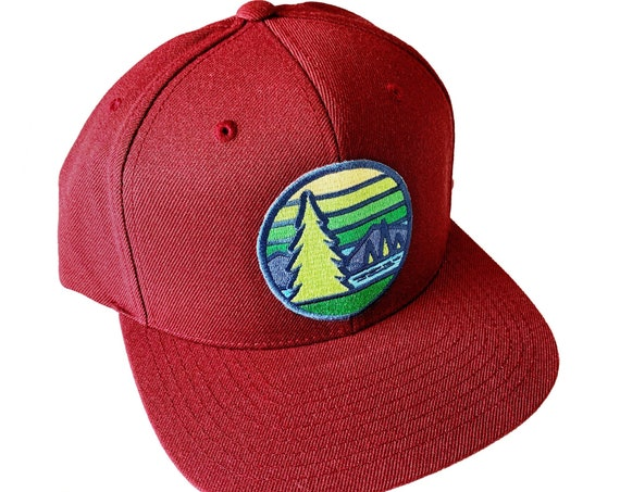 The Pines : Flat Brim Cap