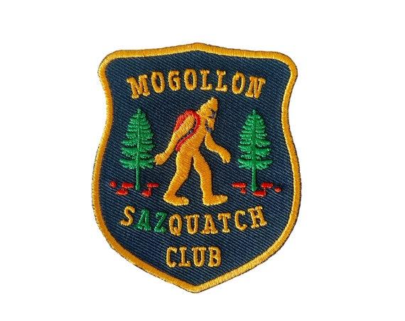 Mogollon Sazquatch Club : Embroidered Patch