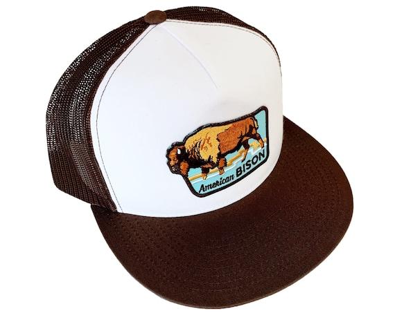 American Bison : Flat Brim Trucker Hat