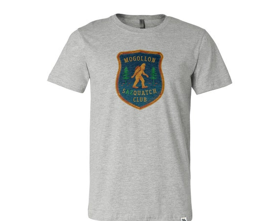 Mogollon Sazquatch Club : Unisex Crew Neck T-Shirt