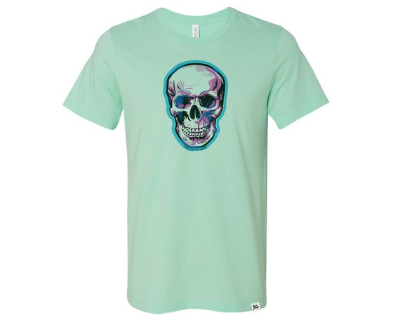 Skully : Adult's Crew Neck T-Shirt