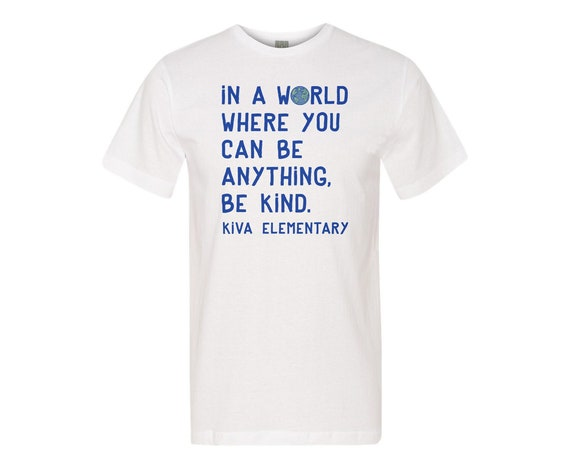 Be Kind Kiva : Unisex Soft Blend T-Shirt
