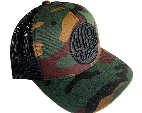 Stained Glass Desert Silhouette : Trucker Hat