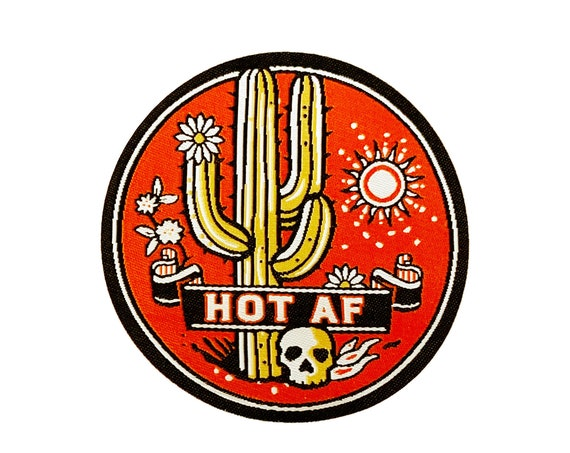 HOT AF : Woven Patch