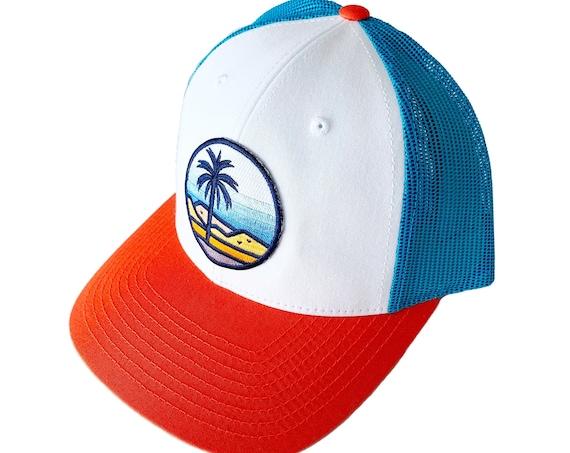 Desert Palms : Low Profile Trucker Hat