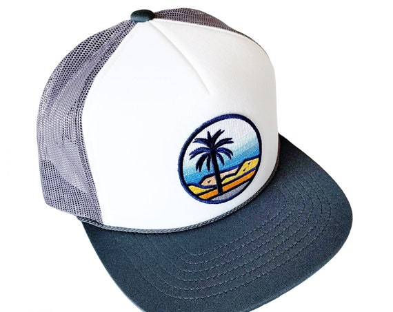 Desert Palms : Foam Front Trucker Hat