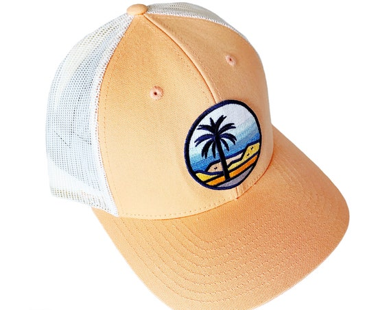 Desert Palms : Low Profile Trucker Hat