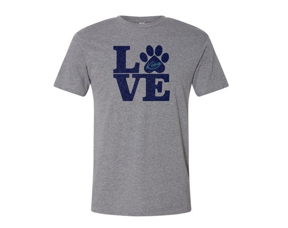 Kiva LOVE : Unisex Soft Blend T-Shirt
