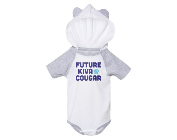 Future Kiva Cougar : Infants Hooded Bodysuit