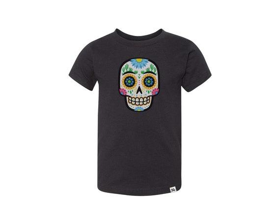 Desert Sugar Skull : Kid's Unisex Soft Blend T-Shirt