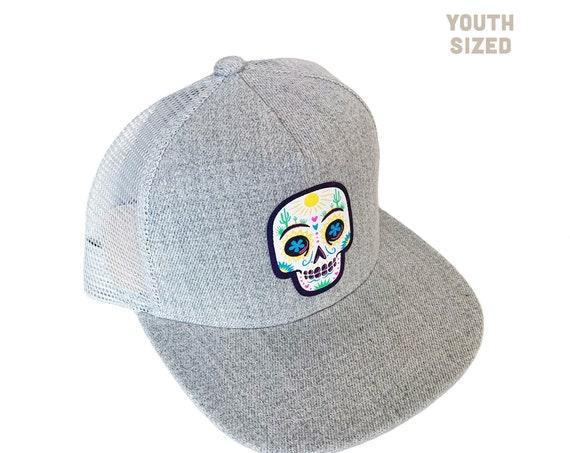 Desert Sugar Skull : KIDS Trucker Hat