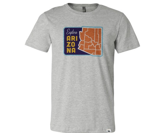 Explore Arizona : Unisex Crew Neck T-Shirt