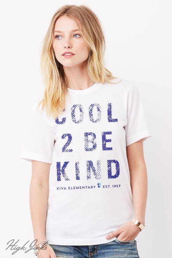 Cool 2 Be Kind : Adult's Unisex Soft Blend T-Shirt