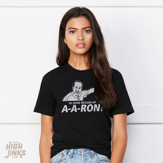 Ya Done Messed Up Aaron : Adult's Soft Blend T-Shirt