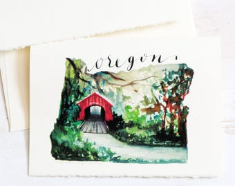 Oregon State Map Art, Map art, for the traveller, State Love, Oregon Art, Oregon map, Watercolor maps, For bridesmaids,Travel Mementos