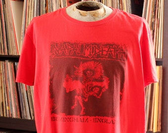 "vintage Napalm Death t-shirt . 50"" chest, APPROX mens xl xxl"