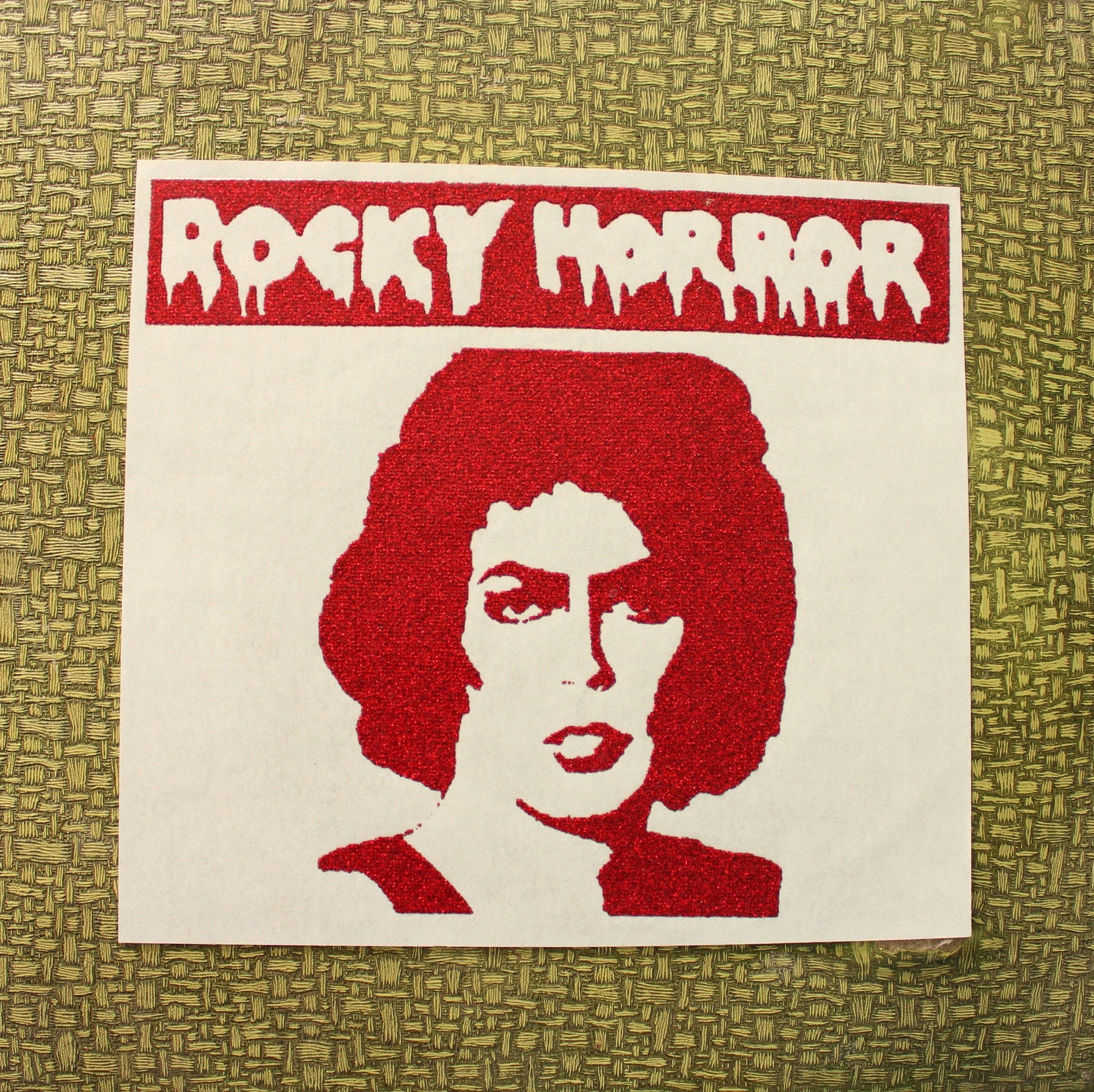 Rocky Horror Picture Show Heat Press Transfer Iron On For Etsy Manzone Mens Top Broonze 1 Maroon Xl