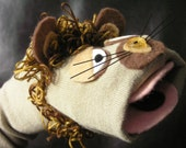 Leopold the Lion - Sock Puppet