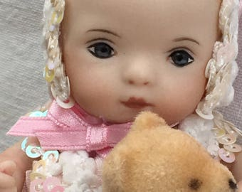 """Miniature Baby Doll """"Toddler Sweetie"""""""
